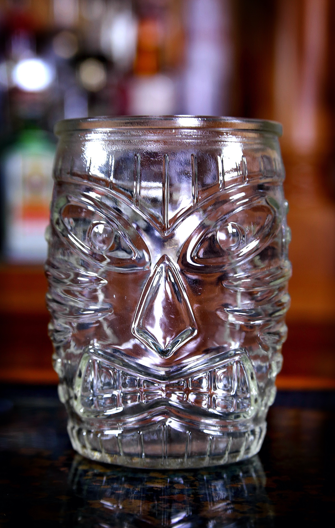 16 oz Short Tiki Glass