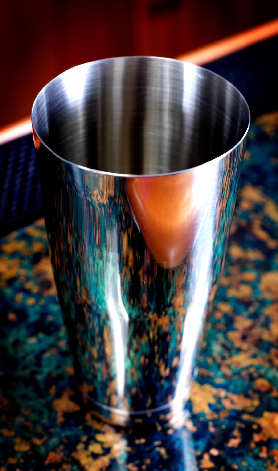 Barfly 28 oz polished shaker tin
