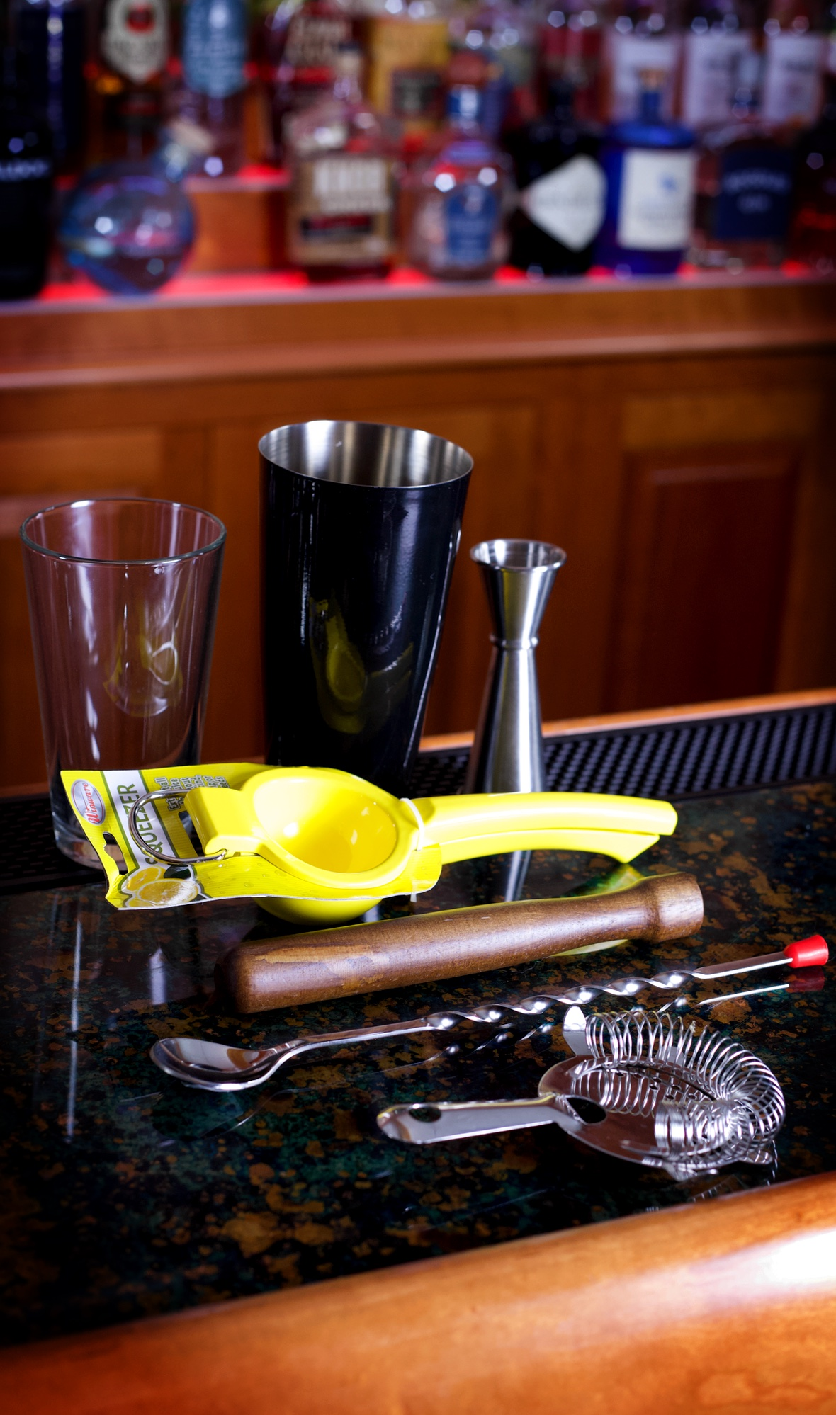 Home Bartender Starter Kit