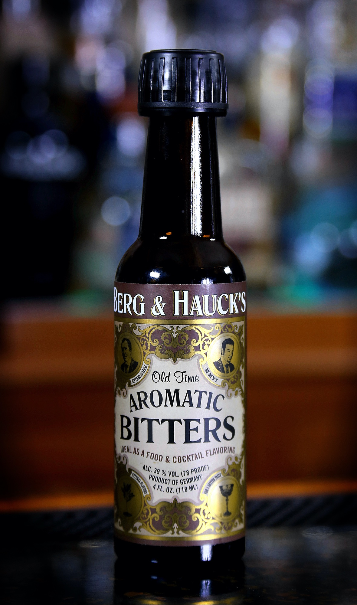 Berg & Hauck Old Time Aromatic Bitters