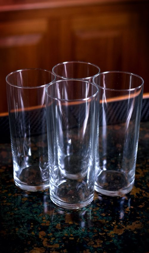 12 oz. Clear Collins Glass Set