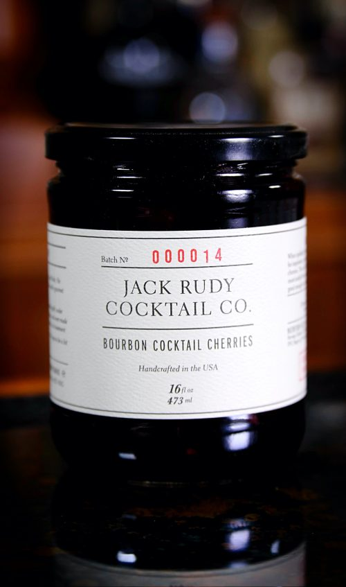 Jack Rudy Bourbon Cherries