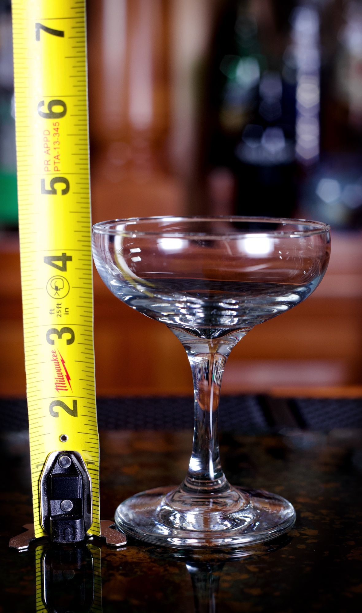 4.5 oz Classy Coupe Size