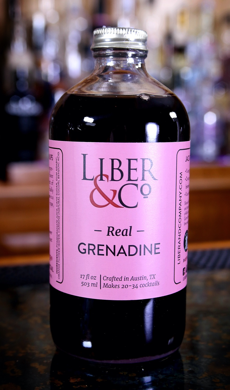 Liber & Co. Real Grenadine, 17 oz