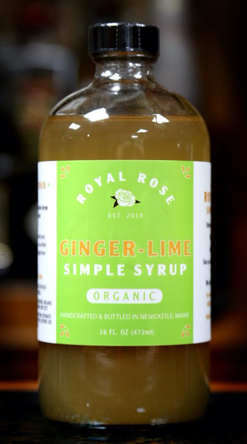 Royal Rose Ginger Lime Simple Syrup
