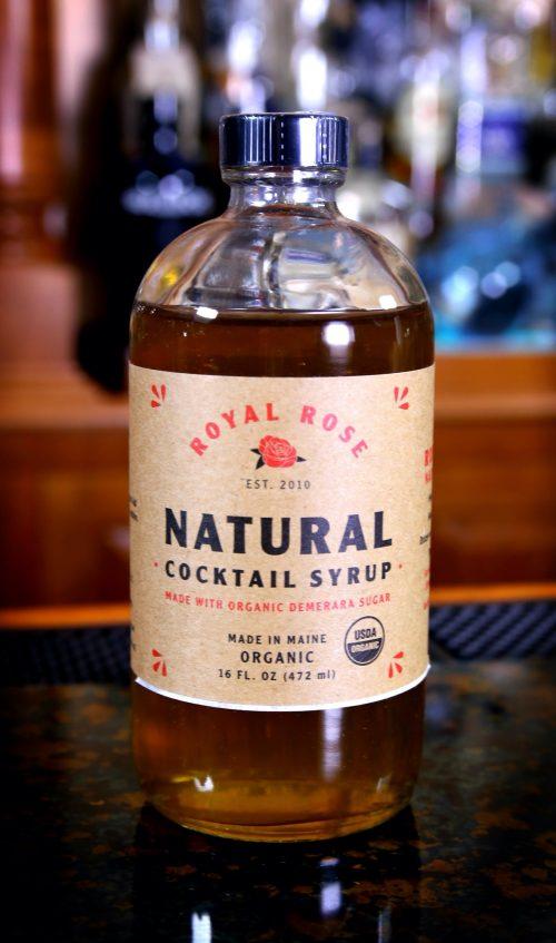 Royal Rose Natural Demerara Cocktail Syrup