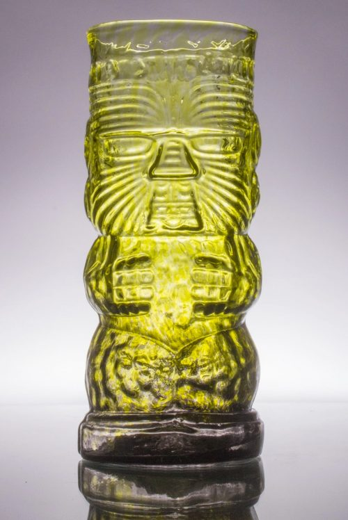 Warrior Tiki Mug - Jungle Fog