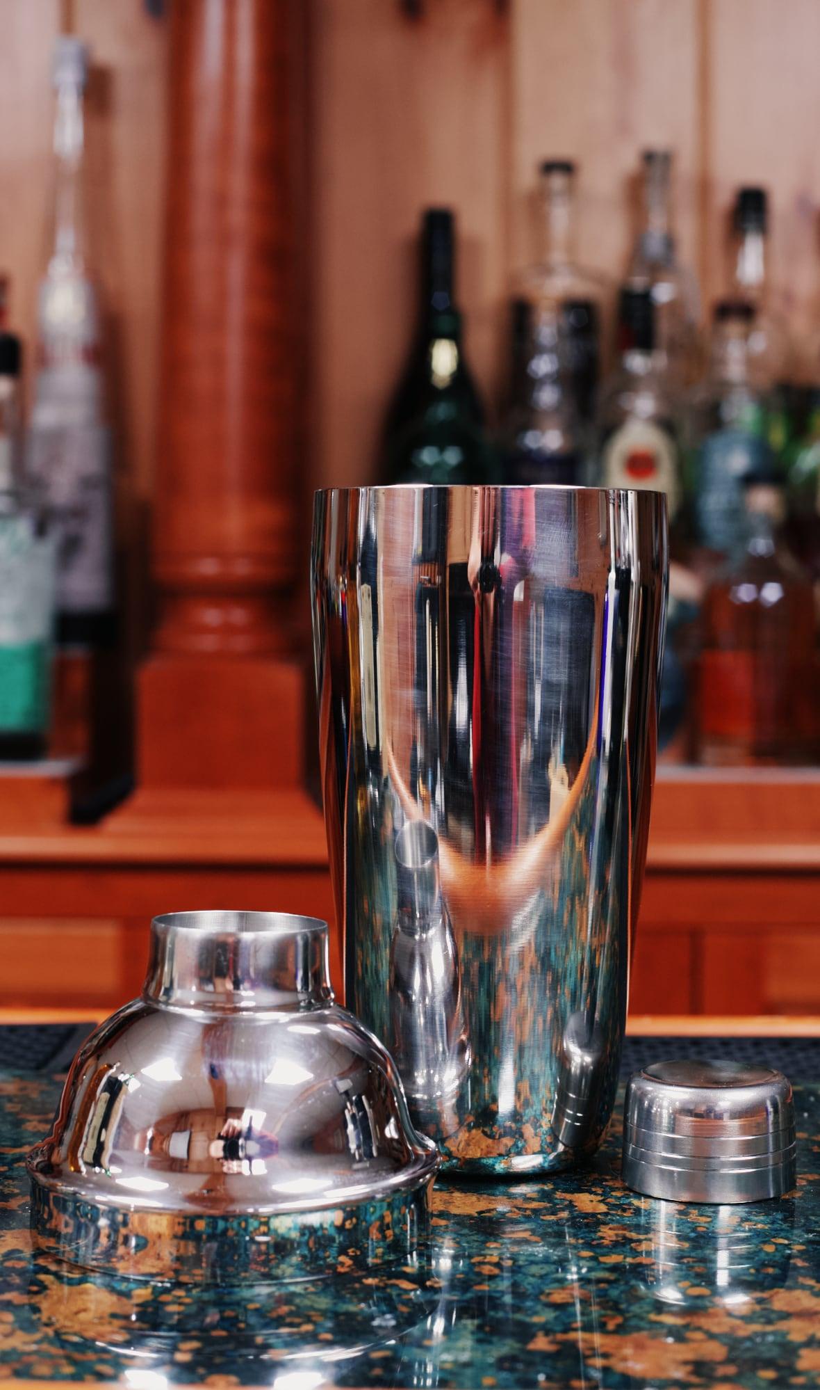 3 piece cobbler shaker