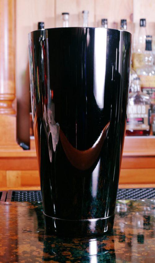 Bar Fly 28 oz Gun Metal Black Shaker Tin