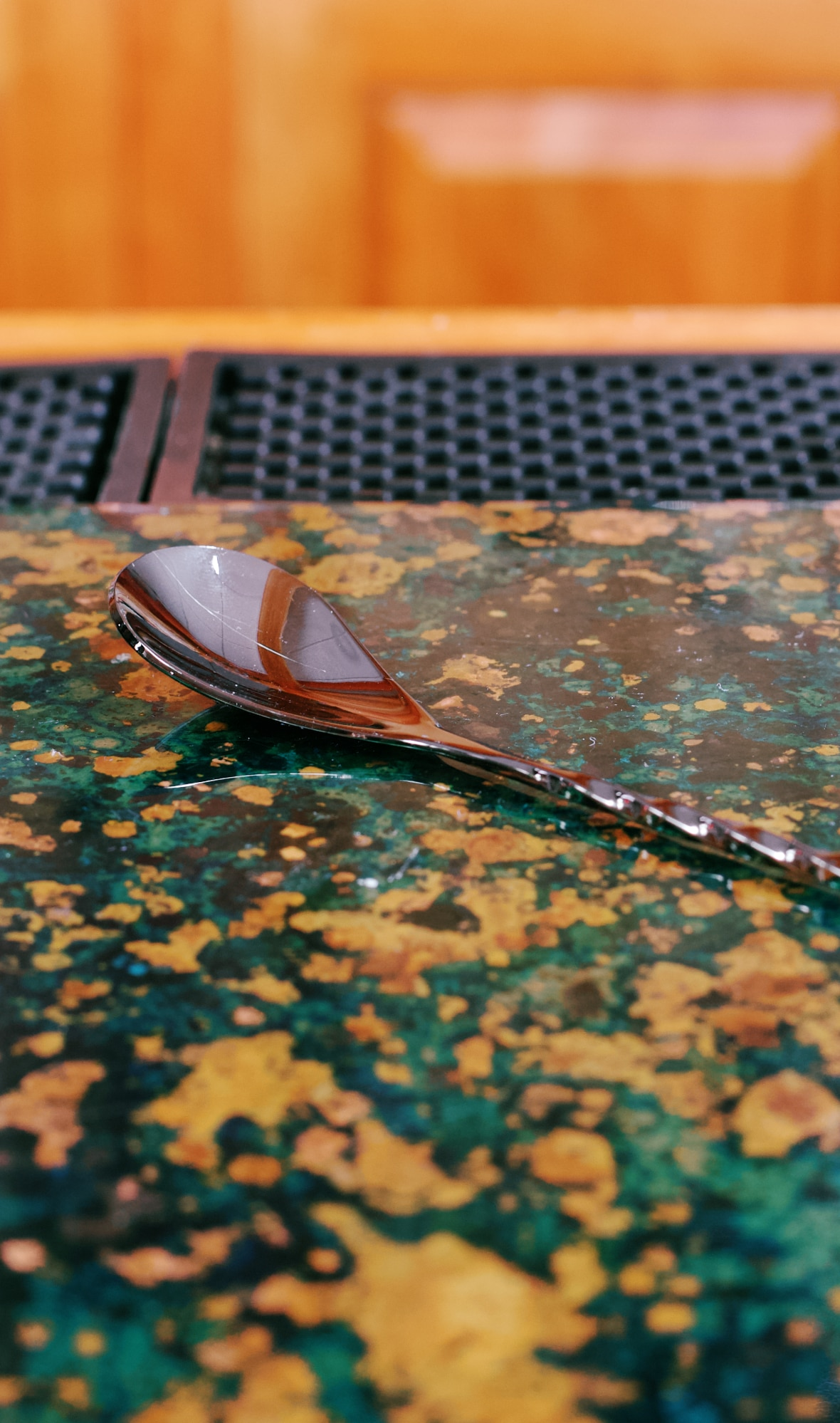 Gun Metal Black Professional Bar Spoon