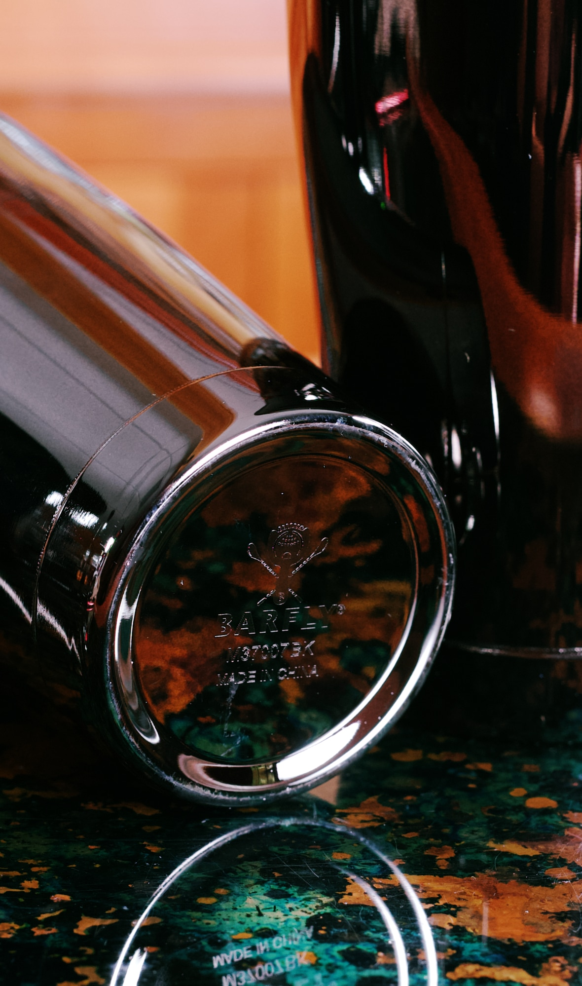 Barfly 18 oz Shaker Tin (gun metal black)