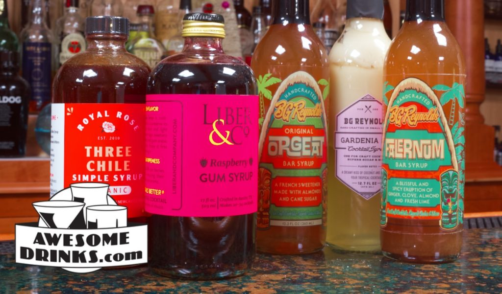 Cocktail Syrups, Why So Many Options?
